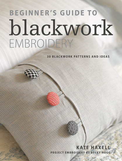 Beginner's Guide to Blackwork Embroidery - 30 blackwork patterns and ideas - cover