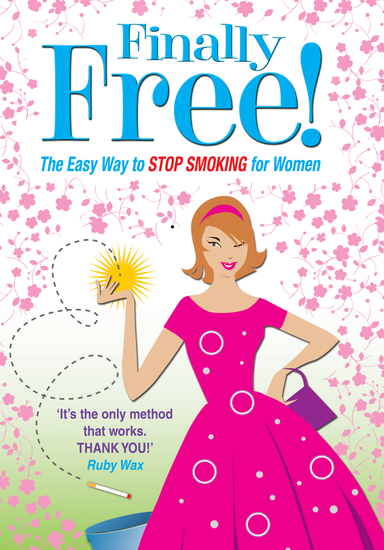 Finally Free! - The Easy Way for Women to Stop Smoking - cover