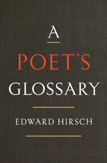 A Poet's Glossary - cover