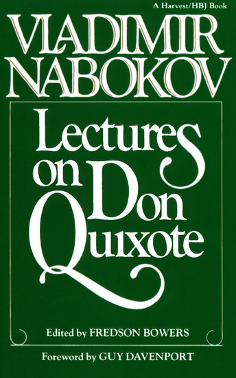 Lectures on Don Quixote - cover