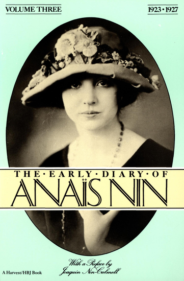 The Early Diary of Anaïs Nin - 1923–1927 - cover