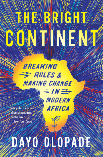 The Bright Continent - Breaking Rules & Making Change in Modern Africa - cover