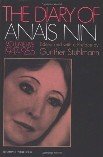 The Diary of Anaïs Nin - 1947–1955 - cover