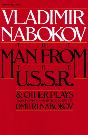 The Man From the USSR - & Other Plays - cover