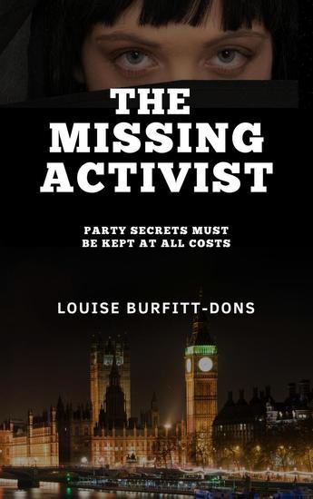 The Missing Activist: A Gripping British Political Thriller (PI Karen Andersen series) - cover
