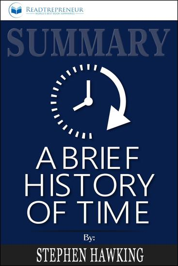 Summary: A Brief History of Time: From the Big Bang to Black Holes - cover