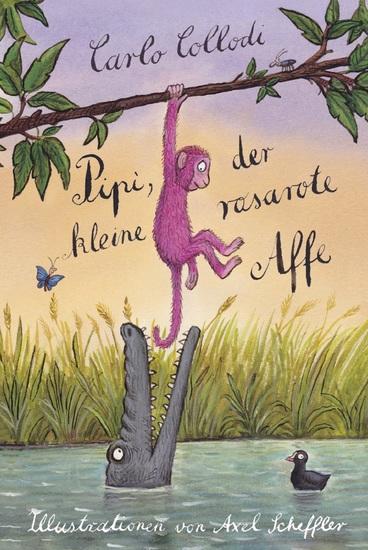 Pipi der kleine rosarote Affe - cover