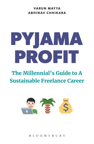 Pyjama Profit - The Millennial's Guide to a Sustainable Freelance Career - cover