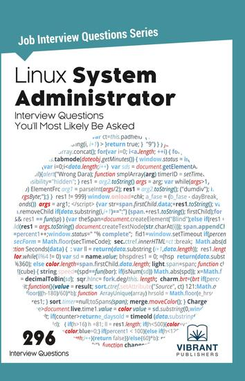 Linux System Administrator Interview Questions You'll Most Likely Be Asked - cover