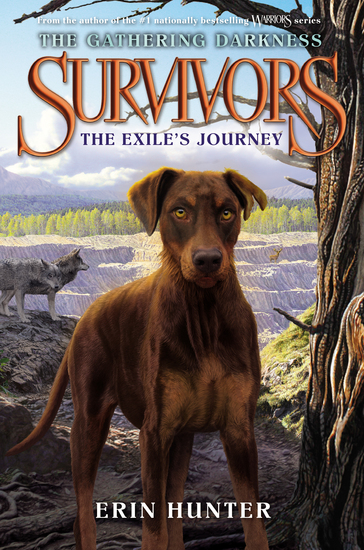 Survivors: The Gathering Darkness #5: The Exile's Journey - cover