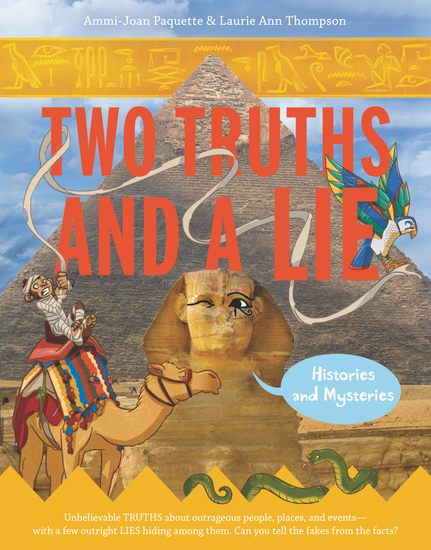 Two Truths and a Lie: Histories and Mysteries - cover