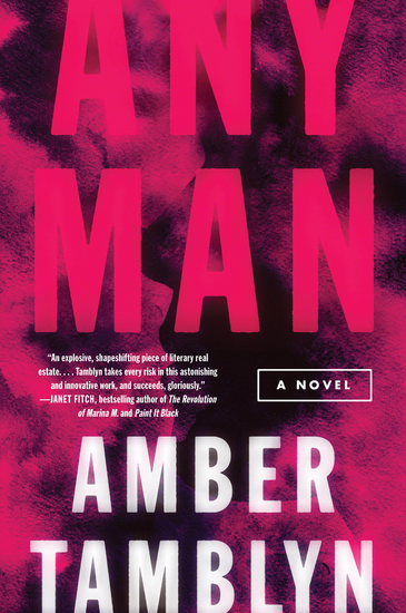 Any Man - A Novel - cover
