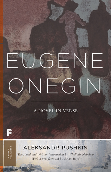 Eugene Onegin - A Novel in Verse: Text (Vol 1) - cover