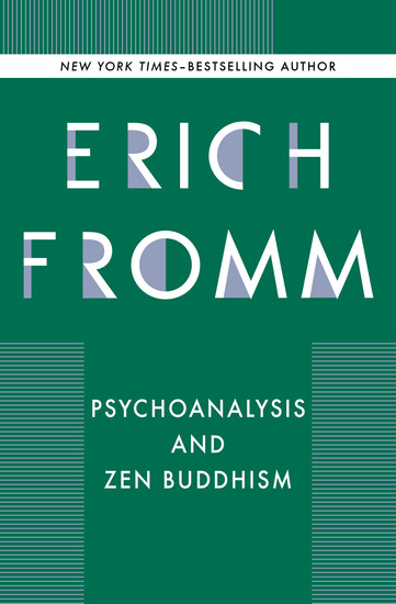 Psychoanalysis and Zen Buddhism - cover