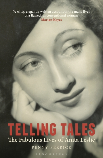 Telling Tales - The Fabulous Lives of Anita Leslie - cover
