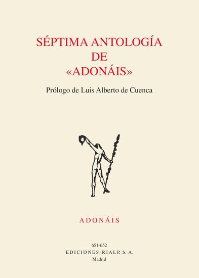 Séptima antologia de Adonáis - cover