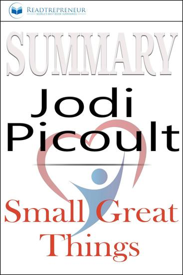 Summary: Small Great Things: A Novel by Jodi Picoult - cover