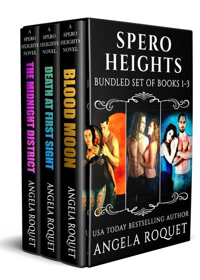 Spero Heights (Books 1-3) - Spero Heights - cover