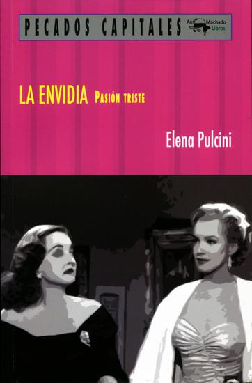 La envidia - Pasión triste - cover