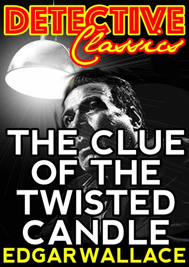 The Clue Of The Twisted Candle - cover
