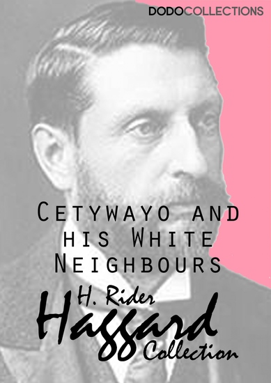 Cetywayo and his White Neighbours - cover