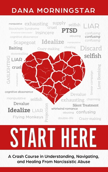 Start Here - A Crash Course in Understanding Navigating and Healing From Narcissistic Abuse - cover