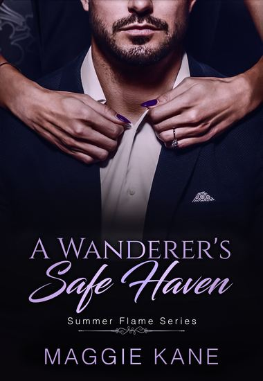 A Wanderer's Safe Haven - A Billionaire Romance - cover