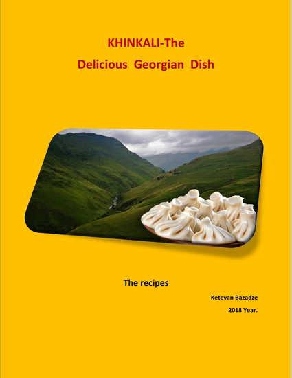 Khinkali - The Delicious Georgian Dish - The recipes - cover