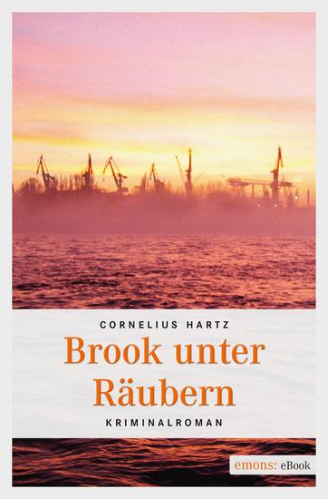 Brook unter Räubern - Kriminalroman - cover