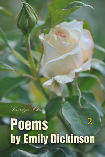Poems by Emily Dickinson Volume 2 - cover