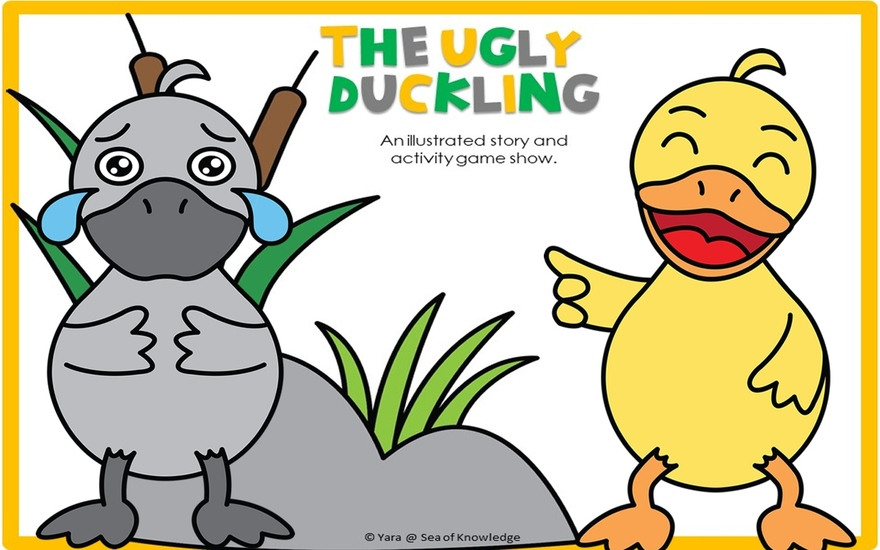 The Ugly Duckling - Story Gameshow - cover