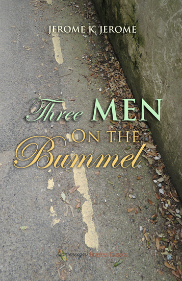 Three Men on The Bummel - cover