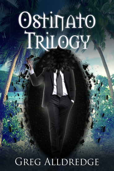 The Ostinato Trilogy - A Texan Space Opera - cover