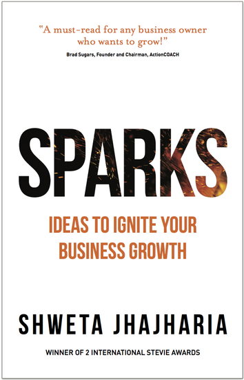 SPARKS - Ideas to Ignite Your Business Growth - cover