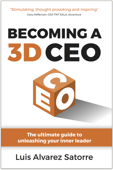 Becoming a 3D CEO - The ultimate guide to unleashing your inner leader - cover