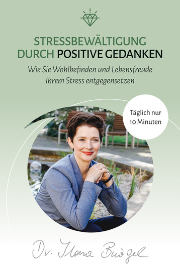 Stressbewältigung durch positive Gedanken - Wie Sie Wohlbefinden und Lebensfreude Ihrem Stress entgegensetzen - cover