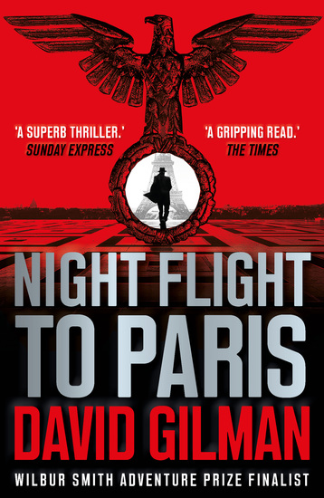 Night Flight to Paris - A World War II thriller from the author of the Master of War series - cover