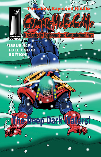 [Compu-MECH Issue #4 ] - The Deep Dark Waters! - cover