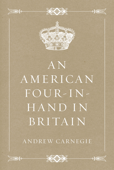 An American Four-in-Hand in Britain - cover