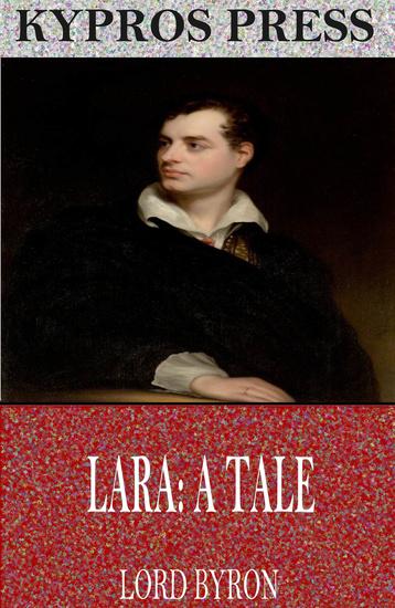 Lara: A Tale - cover