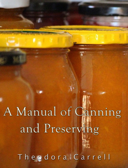 A Manual of Canning and Preserving - cover