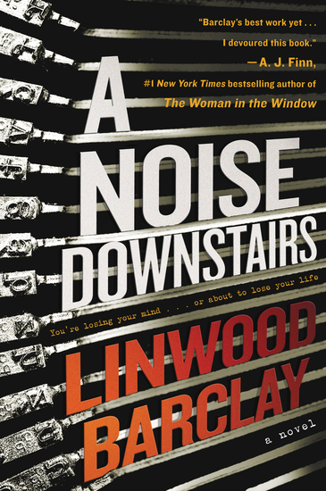 A Noise Downstairs - A Novel - cover