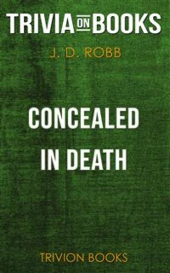 Concealed in Death by J D Robb (Trivia-On-Books) - cover