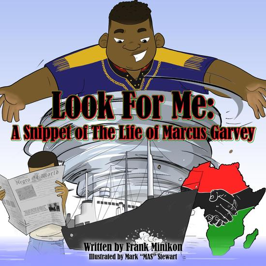 Look For Me - A Snippet of The Life of Marcus Garvey - cover
