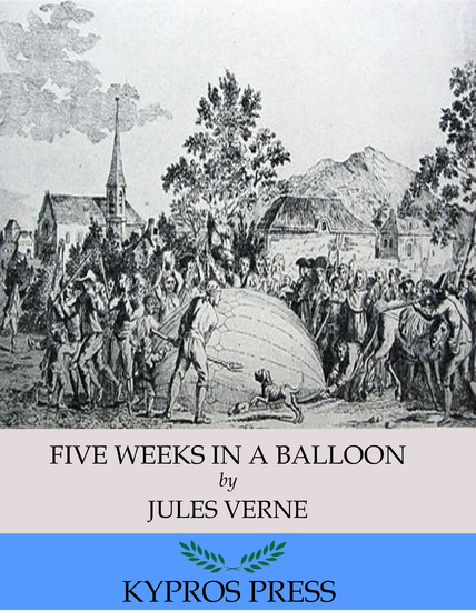 Five Weeks in a Balloon - cover