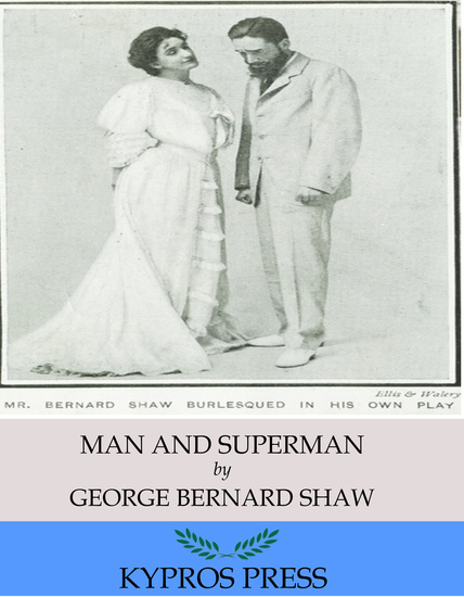 Man and Superman - cover