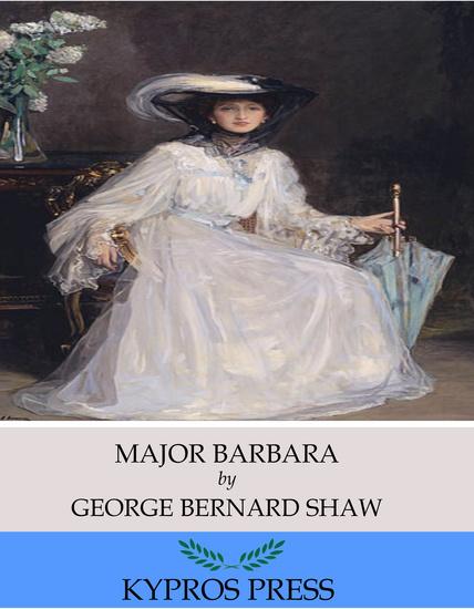 Major Barbara - cover