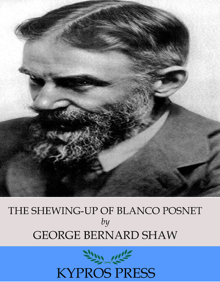 The Shewing-Up of Blanco Posnet - cover