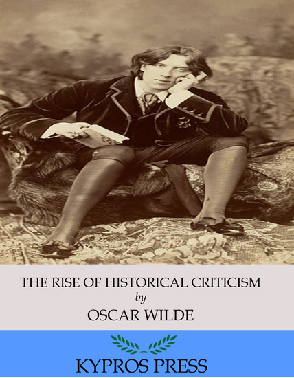 The Rise of Historical Criticism - cover
