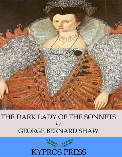 The Dark Lady of the Sonnets - cover